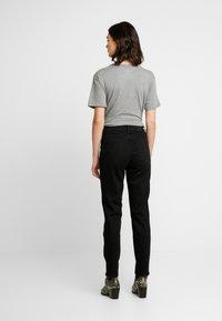 G-Star - HIGH ANKLE - Straight leg jeans - jet black - 2