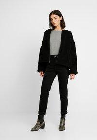 G-Star - HIGH ANKLE - Straight leg jeans - jet black - 1
