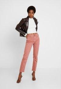 G-Star - HIGH STRAIGHT ANKLE - Straight leg jeans - tea rose - 1