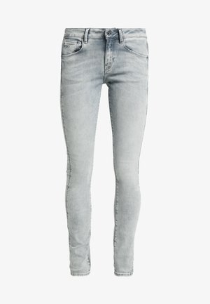 3301 MID SKINNY - Jeans Skinny - sun faded grey