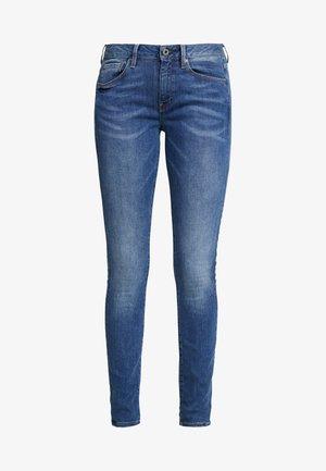 3301 MID SKINNY - Jeans Skinny Fit - sun faded blue