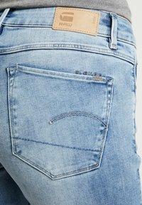 G-Star - 3301 MID SKINNY - Jeans Skinny Fit - faded blue - 5