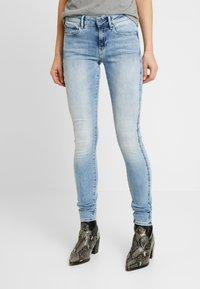 G-Star - 3301 MID SKINNY - Jeans Skinny Fit - faded blue - 0