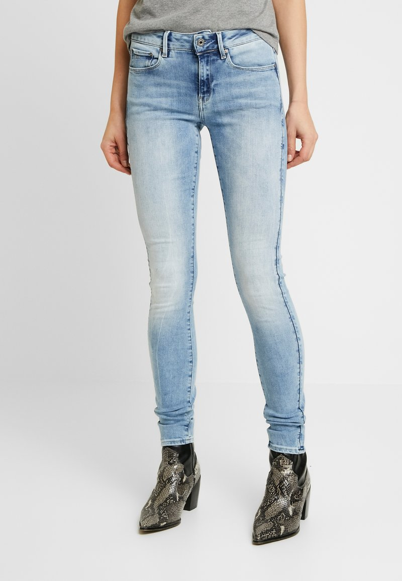 G-Star - 3301 MID SKINNY - Jeans Skinny Fit - faded blue