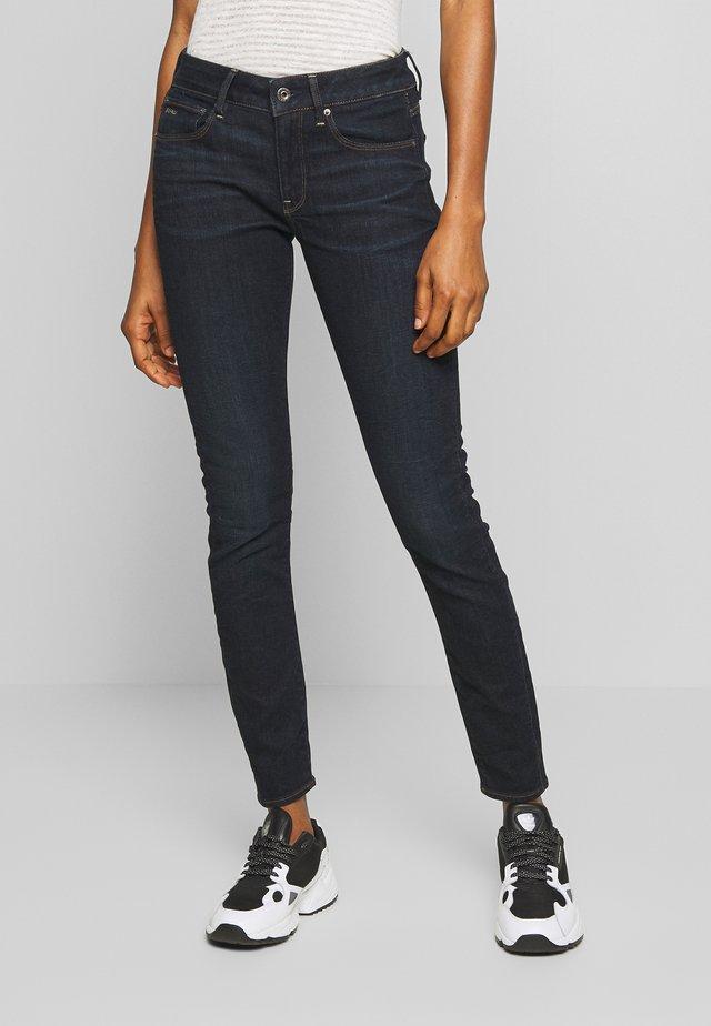 3301 MID SKINNY - Jeans Skinny - dark aged
