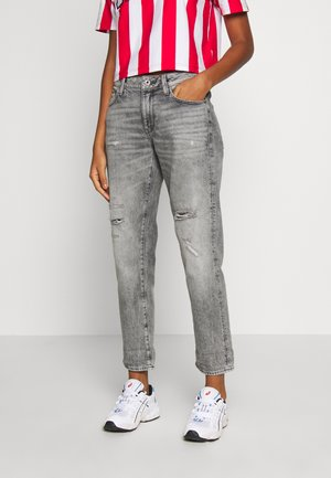 KATE BOYFRIEND - Relaxed fit -farkut - grey denim