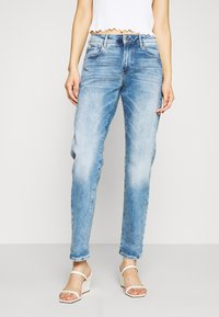 G-Star - KATE BOYFRIEND - Jeansy Relaxed Fit - indigo aged - 0