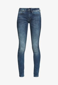 G-Star - 3301 MID SKINNY - Jeans Skinny Fit - antic blue - 3