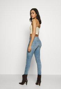 G-Star - 3301 MID SKINNY - Jeans Skinny Fit - light blue denim - 2