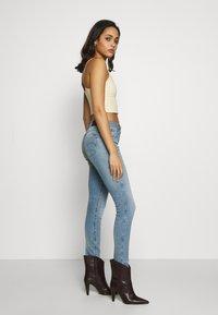 G-Star - 3301 MID SKINNY - Jeans Skinny Fit - light blue denim - 3