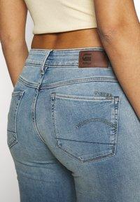 G-Star - 3301 MID SKINNY - Jeans Skinny Fit - light blue denim - 5
