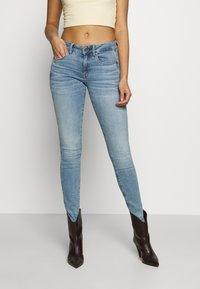 G-Star - 3301 MID SKINNY - Jeans Skinny Fit - light blue denim - 0