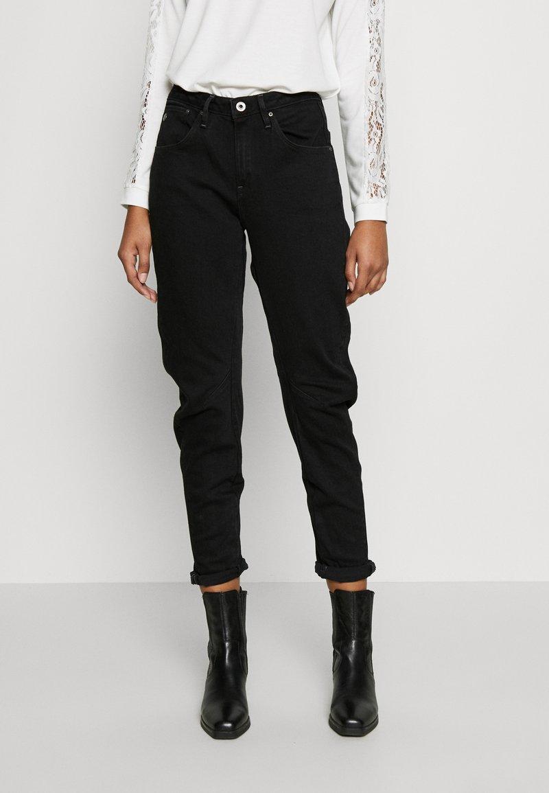 G-Star - ARC 3D LOW BOYFRIEND - Jeans Tapered Fit - nero black/denim jet black