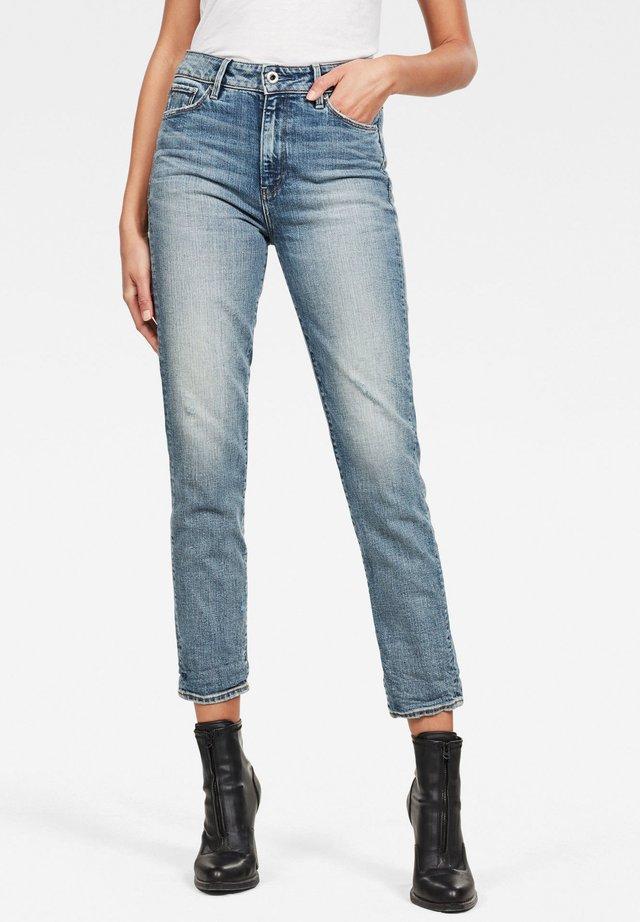 3301 HIGH STRAIGHT 90'S ANKLE - Jeans slim fit - vintage sailor blue