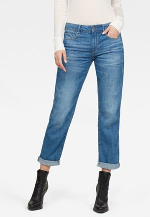 KATE BOYFRIEND - Straight leg jeans - faded lapis