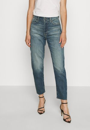JANEH ULTRA HIGH MOM RP ANKLE  - Jeansy Relaxed Fit - faded