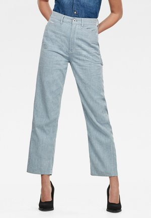 REVYNN ULTRA HIGH BOYFRIEND - Straight leg jeans - sun faded indigo