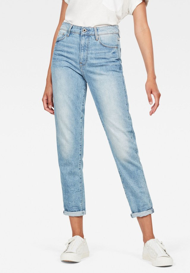 3301 HIGH STRAIGHT 90'S ANKLE - Straight leg jeans - authentic blue