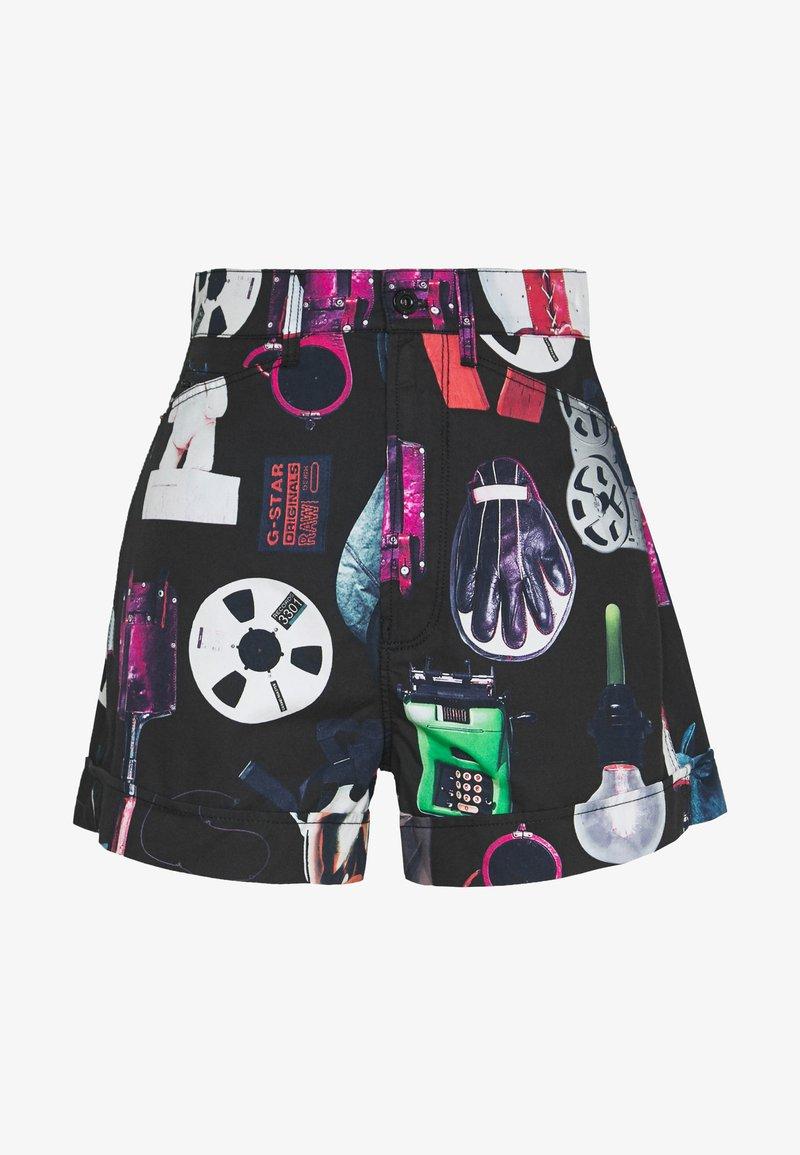 G-Star - JUDIE ULTRA HIGH  - Shorts - black