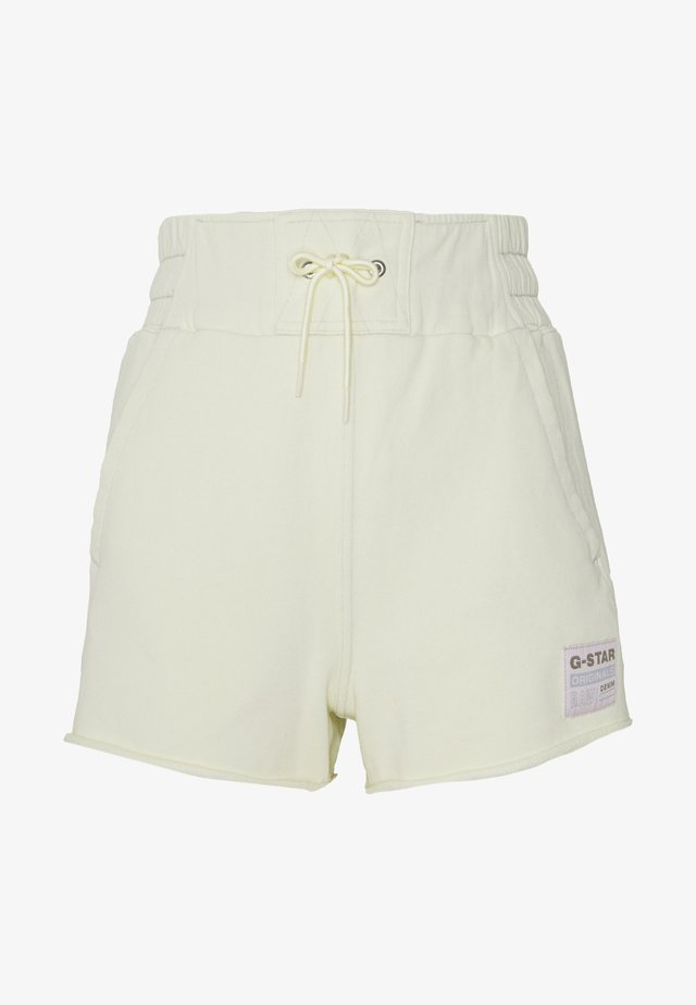 HIGH WAIST - Shorts - lumi green