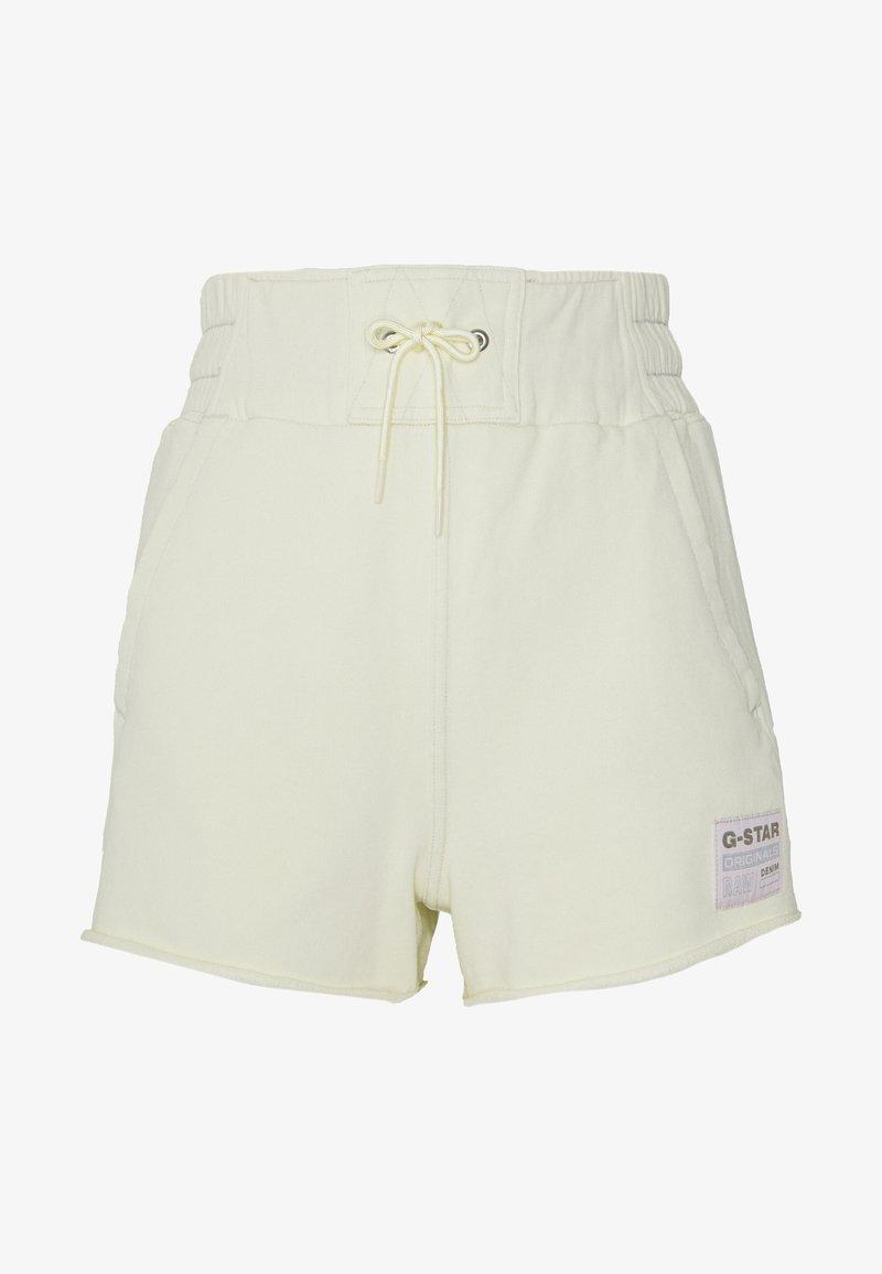 G-Star - HIGH WAIST - Shorts - lumi green