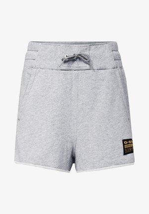 HIGH WAIST - Shorts - grey htr