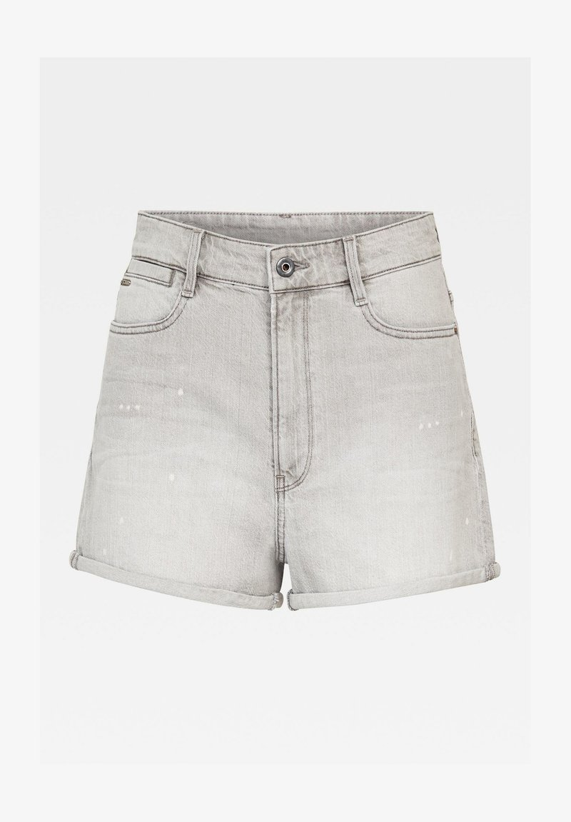 G-Star - TEDIE ULTRA HIGH - Shorts di jeans - sun faded pewter grey
