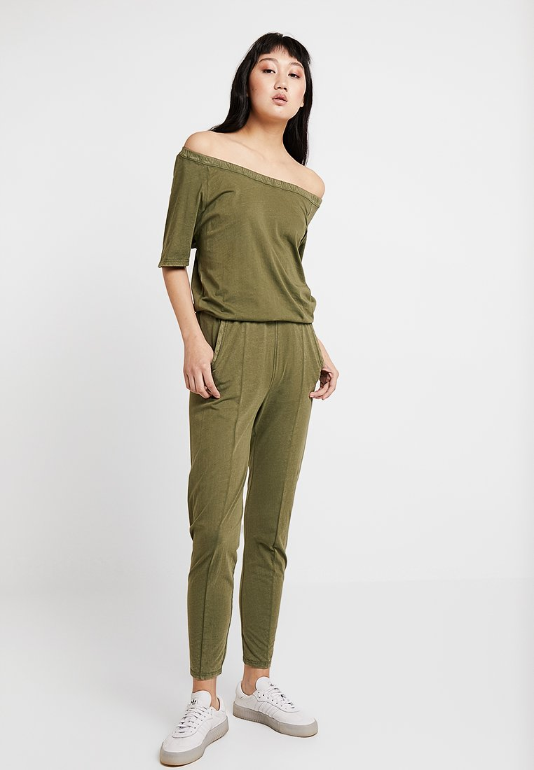 G-Star - NAMIC BOATNECK SUIT - Jumpsuit - sage