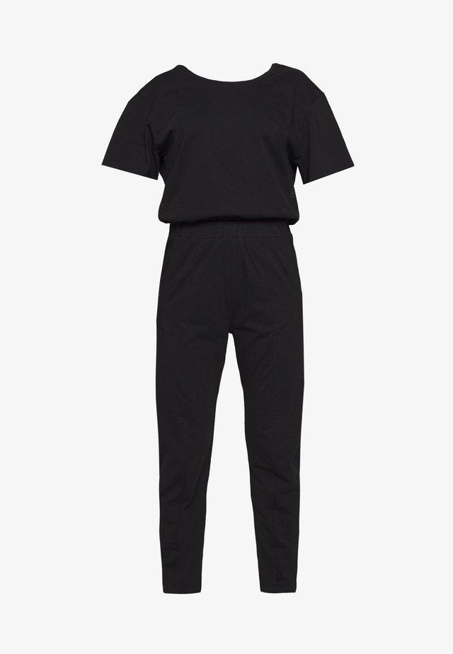 BOHDANA - Jumpsuit - dark black