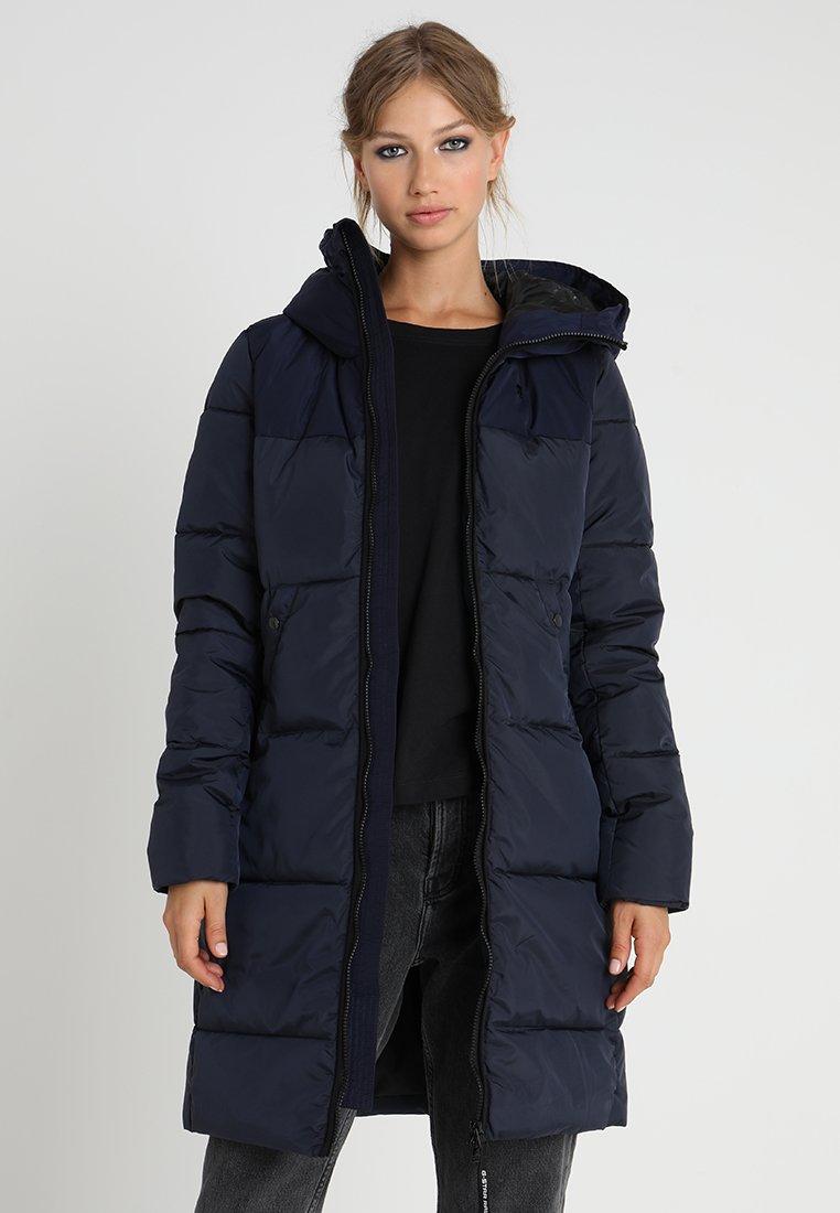 G-Star - WHISTLER HDD QLT SLIM LONG COAT WMN - Winter coat - dark blue