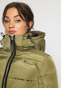 G-Star - MEEFIC SUNDU OVERSHIRT - Winter jacket - smoke olive - 4