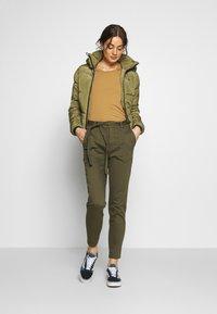 G-Star - MEEFIC SUNDU OVERSHIRT - Winter jacket - smoke olive - 1