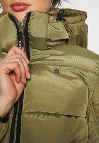 G-Star - MEEFIC SUNDU OVERSHIRT - Winter jacket - smoke olive - 6