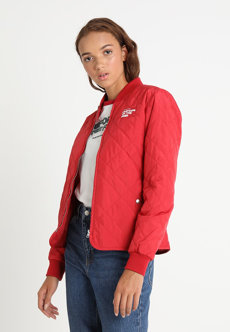 G-Star - QUILTED LINER WMN - Light jacket - chili red