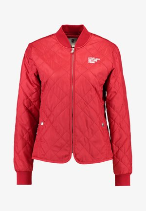 QUILTED LINER WMN - Light jacket - chili red