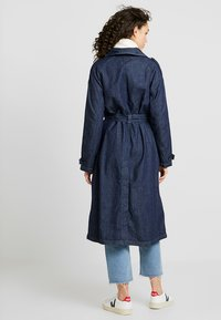 G-Star - MINOR A-LINE LOOSE TRENCH - Trenchcoat - indigo dk aged - 2