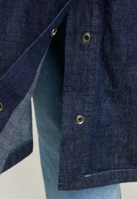 G-Star - MINOR A-LINE LOOSE TRENCH - Trenchcoat - indigo dk aged - 4