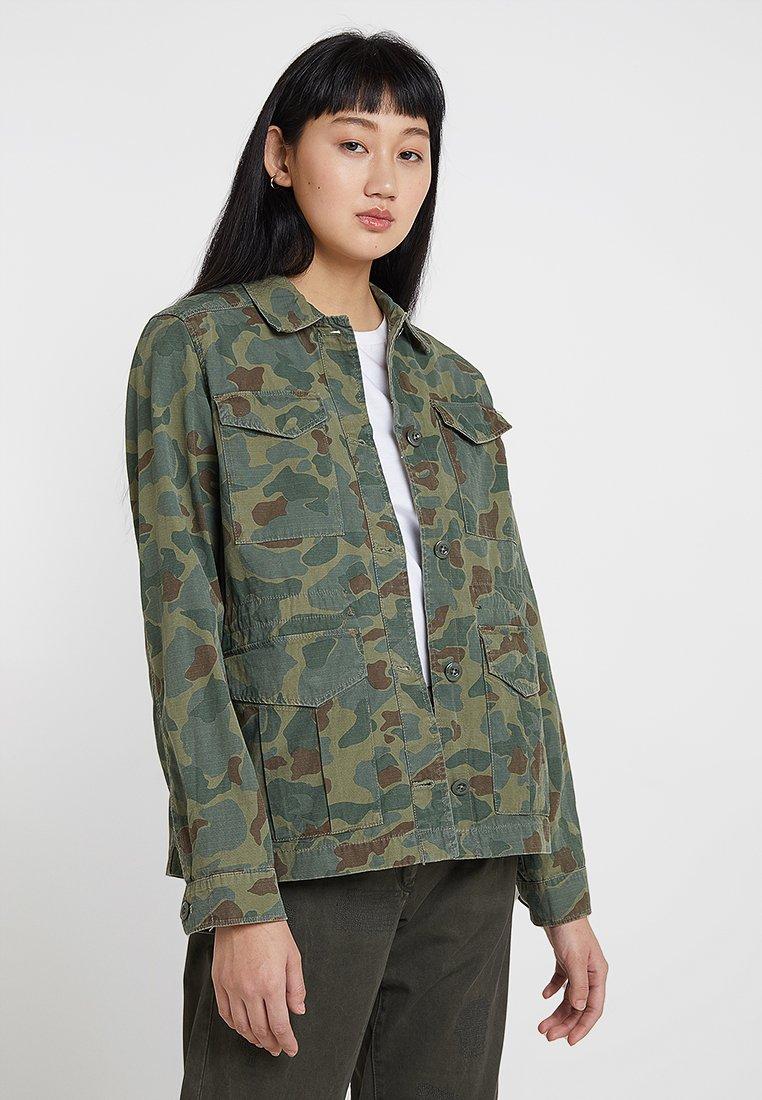 G-Star - ROVIC FIELD OVERSHIRT - Lehká bunda - sage/battle green