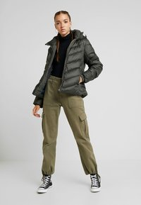 G-Star - WHISTLER SLIM - Down jacket - asfalt - 1