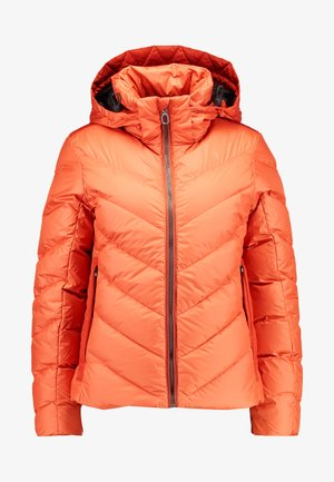 WHISTLER SLIM - Down jacket - dusty royal orange
