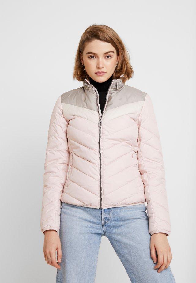 ALASKA DOWN - Chaqueta de plumas - light pink