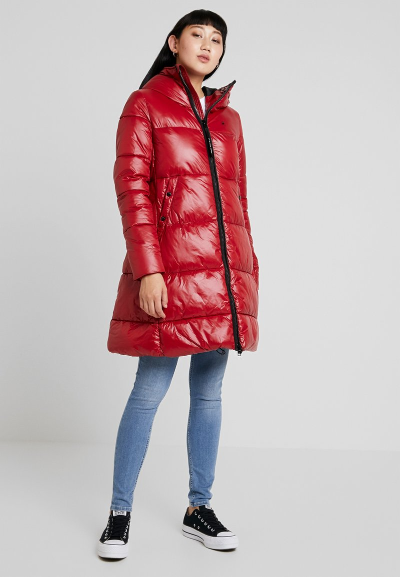 G-Star - WHISTLER LONG HIGH SHINE - Cappotto invernale - red