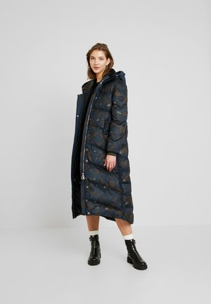 WHISTLER HDD DOWN LONG PARKA WMN - Kabát z prachového peří - gull/legion blue ao