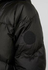 G-Star - WHISTLER HDD DOWN LONG PARKA WMN - Down coat - dark black - 5