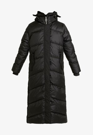 WHISTLER HDD DOWN LONG PARKA WMN - Down coat - dark black