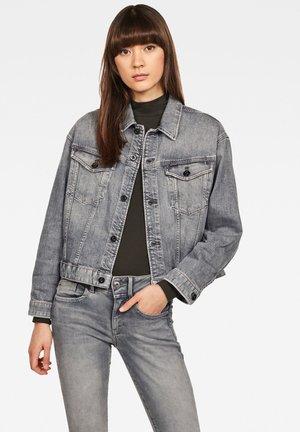 3301 BOYFRIEND - Veste en jean - faded pebble grey