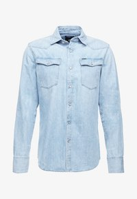 G-Star - 3301 SLIM SHIRT L\S - Skjorta - light aged - 3