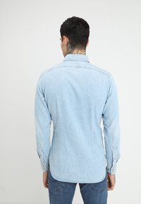 G-Star - 3301 SLIM SHIRT L\S - Skjorta - light aged - 2