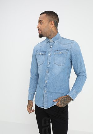 3301 SLIM SHIRT L\S - Skjorta - medium aged