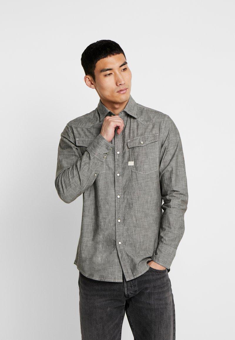 G-Star - 3301 SLIM - Shirt - rinsed